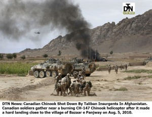 Afghanistan Canadian CH-47 DTN News DTN Logos