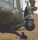 VL2007-1033-06  9 may 2007 Wainwright, Alberta A loading master (left) from 408 Tactical Helicopter Squadron prepares a CH 146 Griffin helicopter before embarking an infantry section.  CF Photo by Corporal Simon Duchesne  VL2007-1033-06 9 mai 2007 Wainwright, Alberta Un maître en chargement (à gauche) du 408e escadron tactique d'hélicoptères prépare un hélicoptère CH-146 Griffon avant d'embarquer une section d'infanterie. Photo FC par Caporal Simon Duchesne