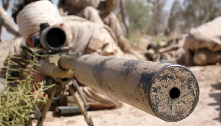 Canadian Snipers in Afghanistan Timberwolf